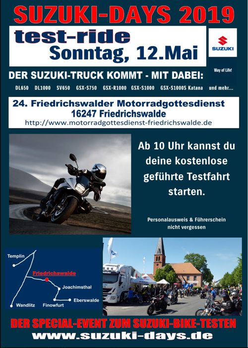 suzuki days berlin 2019